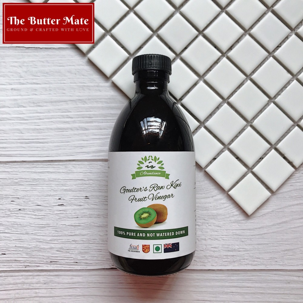 Is Abundance Goulter's Raw Kiwi Fruit Vinegar - 300ml