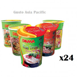 image of [New item] 24 cups of PAMA Instant Cup Noodles in random flavor