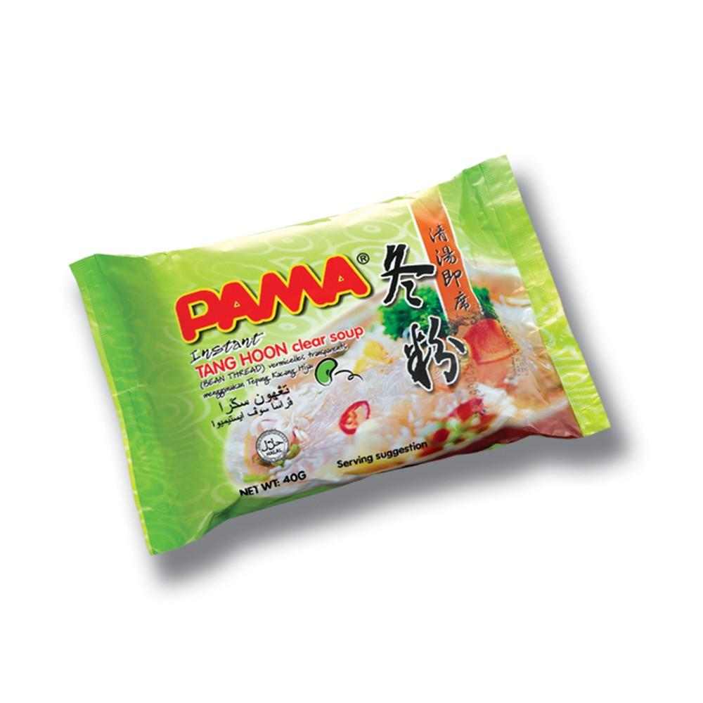 PAMA Instant Tang Hoon Clear Soup Flavour (55gx5) Halal - Malaysia