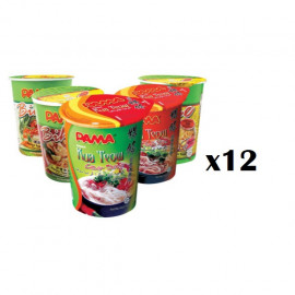 image of [New Item] 12 Cups Of PAMA Instant Cup Noodles In Random Flavor