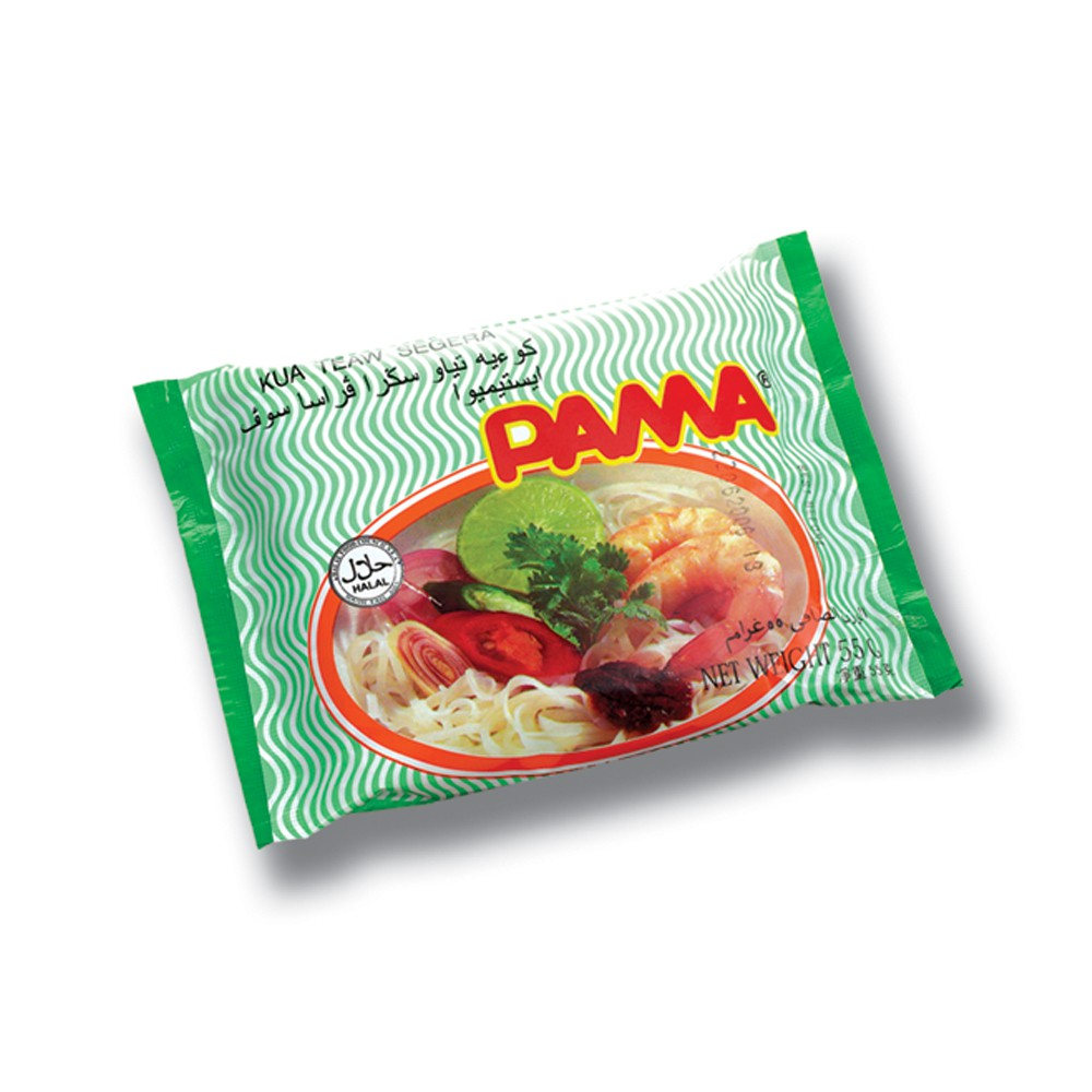 PAMA Instant Kua Teow Clear Soup Flavour (55gx5) Halal – Malaysia