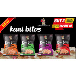 BUY 3 for RM10!! Halal Crispy Crab Chip | KANI BITES - Madame RATA (18g x 3 packets)