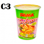 [New item] 24 cups of PAMA Instant Cup Noodles in random flavor