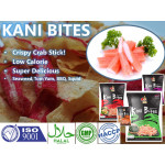 Halal Crispy Crab Chip SEAWEED Flavor | KANI BITES - Madame RATA  (18gx1 per packet)