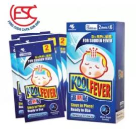 image of Koolfever For Children 2 sheets x 6pkt