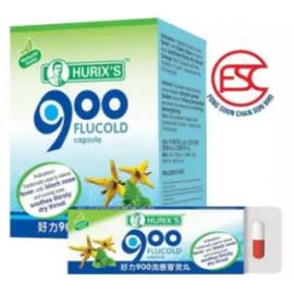 image of Hurix's Flucold 900 capsule 12blister x 6 pieces