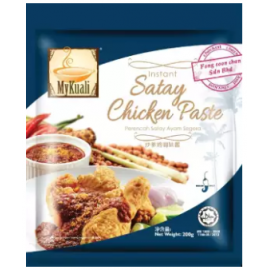 image of [FSC] Mykuali Instant Satay Chicken Paste 200gm