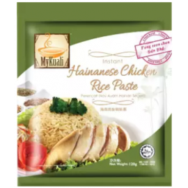image of [FSC] Mykuali Instant Hainanese Chicken Rice Paste 120gm (pack)