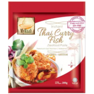 image of [FSC] Mykuali Instant Thai Curry Fish & Seafood Paste 200gm