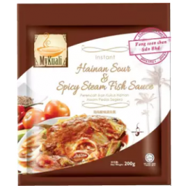 image of [FSC] Mykuali Instant Hainan Sour & Spicy Steam Fish Paste 200gm