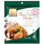 image of [FSC] Mykuali Instant Thai Curry Chicken 200gm