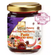 image of [FSC] Mykuali Red Tom Yum Goong Paste 428gm (Jar)