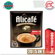 image of [FSC] Alicafe Instant 5 in 1 Tongkat Ali and Ginseng Coffee 30gm x 20sachet