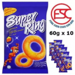 Oriental Super Ring Cheese Flavour 60gm x 10 pieces