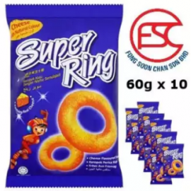 image of Oriental Super Ring Cheese Flavour 60gm x 10 pieces