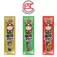 image of [FSC] Tao Kae Noi Big Roll Ori/Hot/Squid Seaweed (3box x 5gm x 12roll)