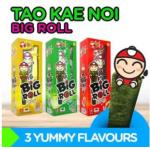 [FSC] Tao Kae Noi Big Roll Ori/Hot/Squid Seaweed (3box x 5gm x 12roll)