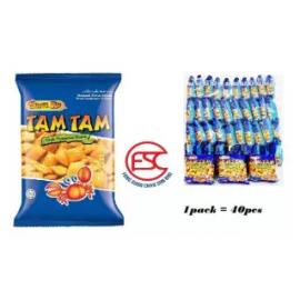 image of [FSC] Snek ku Tam Tam Crab Snack 15gm x 40pieces