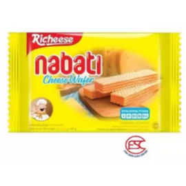 image of [FSC] Richeese Nabati Wafer Cheese Flavour 50gm x 10 pieces