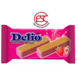 image of Oriental Delio Strawberry Cream wafer 16gm x 24 pieces