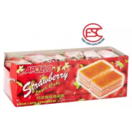 image of [FSC] Apollo Strawberry Layer Cake 24pieces x 18gm (Perbox)