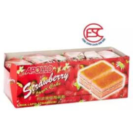 image of [FSC] Apollo Strawberry Layer Cake 24pieces x 18gm (Perbox)