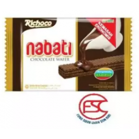 image of [FSC] Richoco Nabati Wafer Chocolate Flavour 50gm x 10 pieces