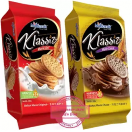 image of Mybizcuit Klassic Marie MixPack 300g x 2pkt (Ori & Choco)
