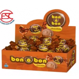 image of Arcor Bon O Bon Wafer Filled Chocolate Cream Milk 15gm x 30pcs