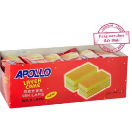 image of [FSC] Apollo Original Layer Cake 24pieces x 18gm (Perbox)