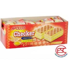 image of [FSC] Apollo Checker Original Layer Cake 24pieces x 18gm (Perbox)