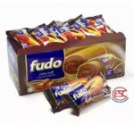 [FSC] Fudo Chocolate Flavours Swiss Roll Cake 18gm x 24 pieces