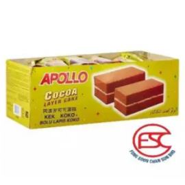 image of [FSC] Apollo Cocoa Layer Cake 24pieces x 18gm (Perbox)