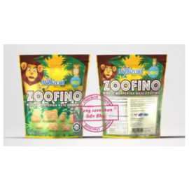image of Mybizcuit Zoofino animal cookies 118gm (Cheese flavour)