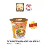 image of [FSC] Mykuali Penang Gaeng Som Noodle(Cup) 6cup x 85gm