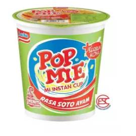 image of [FSC] Indomie Popmie Rasa Soto Ayam Cup Noodles 72gm x 6cup
