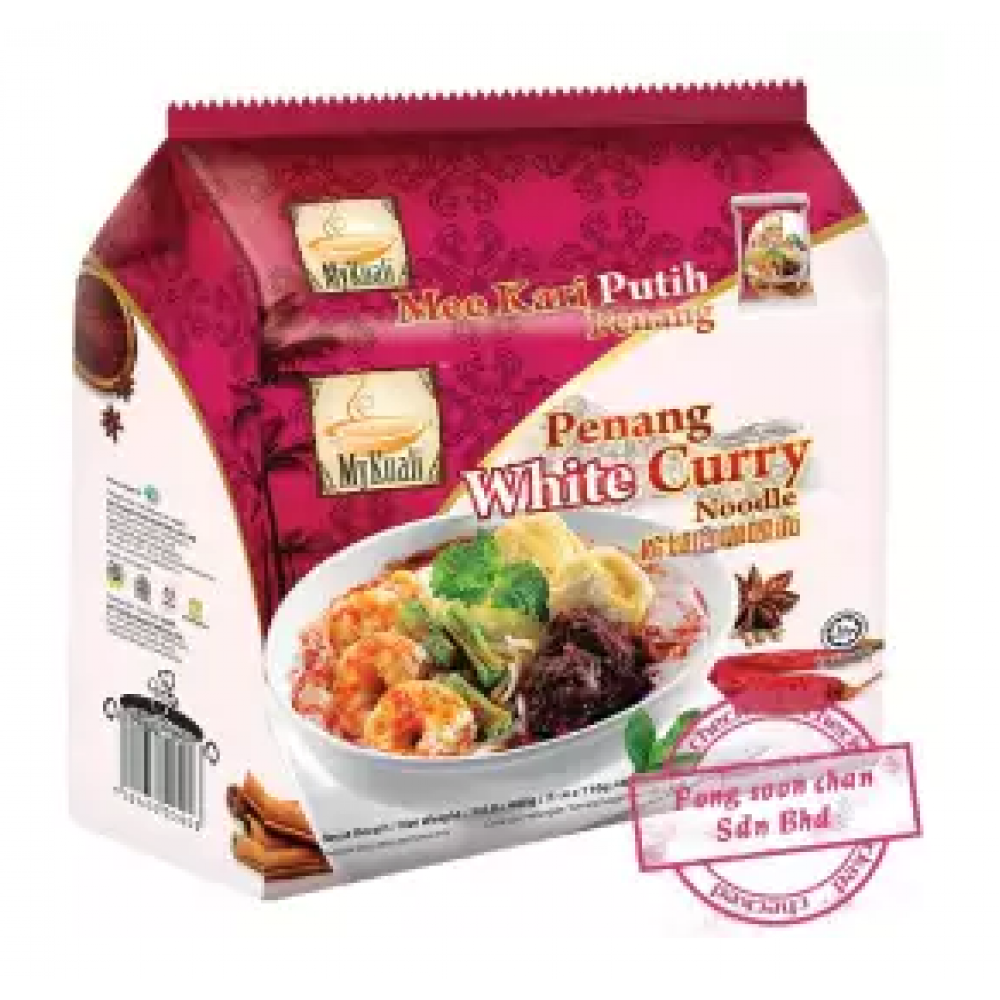 [FSC] Mykuali Penang White Curry Noodle 110gm x 4pcs x 12pck
