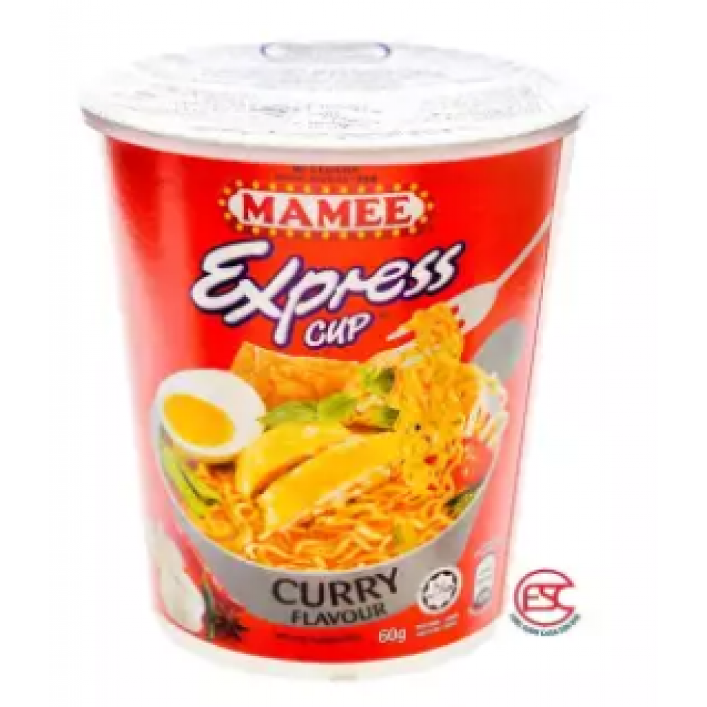 [FSC] Mamee Express Cup Noodles 60gm x 6cup Curry Flavours