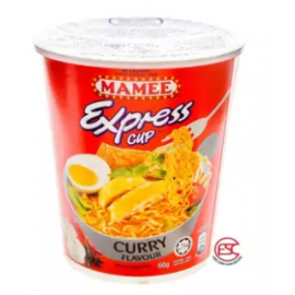 image of [FSC] Mamee Express Cup Noodles 60gm x 6cup Curry Flavours