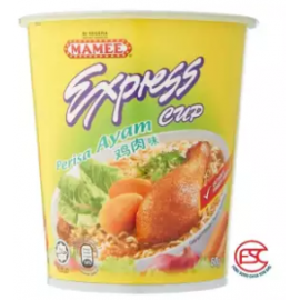 image of [FSC] Mamee Express Cup Noodles 60gm x 6cup Chicken Flavours