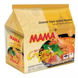 image of [FSC] MaMa Shrimp Creamy Tom Yum instant Noodles 60gm x 6pkt x 5pc