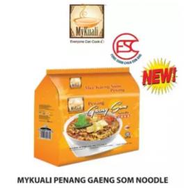 image of [FSC] Mykuali Penang Gaeng Som Noodle(Bandle) 115gm x 4pcs