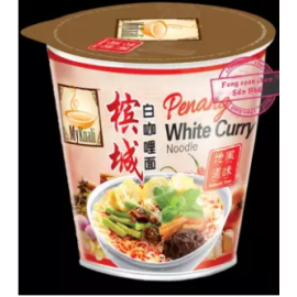 image of [FSC] Mykuali Penang White Curry (Cup) Noodle 95gm x 6cup