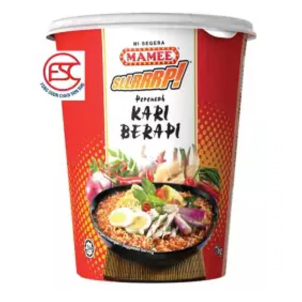 [FSC] Mamee SLLRRP Cup Noodles Curry Berapi 6cup x 60gm
