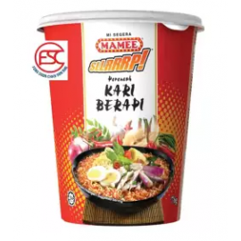 image of [FSC] Mamee SLLRRP Cup Noodles Curry Berapi 6cup x 60gm