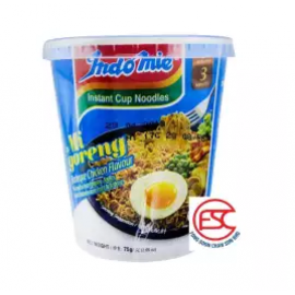 image of [FSC] Indomie Mi Goreng Barbeque Chicken Cup Noodles 12cup x 75gm