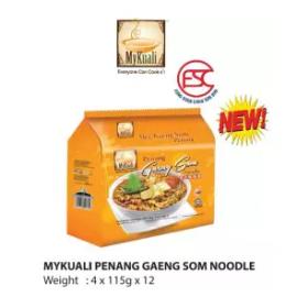 image of [FSC] Mykuali Penang Gaeng Som Noodle 12pkt x 4pcs x 115gm