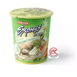 image of [FSC] Mamee Express Cup Noodles 60gm x 6cup Vegetarian Flavour