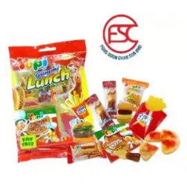 image of [FSC] Yupi Mini Assorted Gummy Lunch Set 77gm