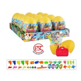 image of [FSC] Beardy Golden Lucky Egg Toy With Candy 12 pieces